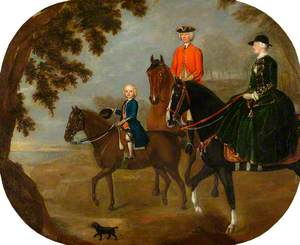 Sir George Hampson and Family