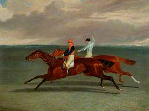 The Match between 'Priam' and 'Augustus', 20 October 1831
