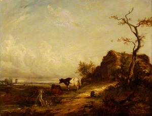 Cattle and a Cottage