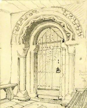Norman Doorway, Burgh Church, Burgh, Norfolk
