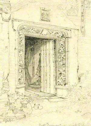 Arminghall Hall, North Door