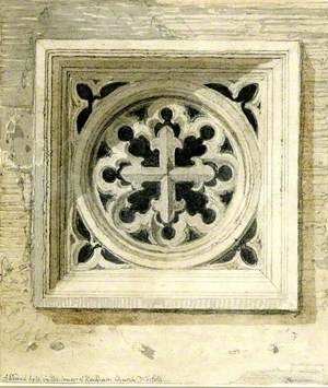 A Sound Hole in the Tower of Reedham Church, Norfolk