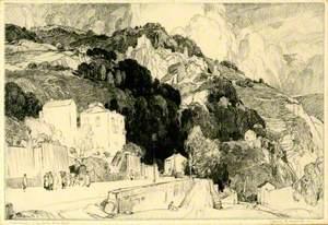Roquebrune Castle and Monte Carlo Road