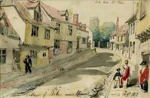 Village of Stoke near Ipswich