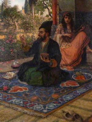 A Scene from Omar Khayyam