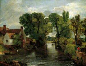 The Mill Stream, Willy Lott's House