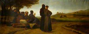 St Francis Blessing Assisi