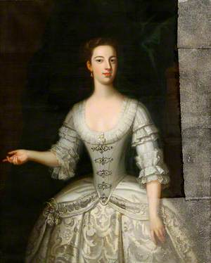 Lady Barbara Herbert, Mrs D. North