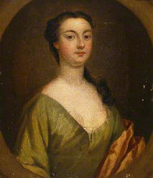 Portrait of a Lady of the Fonnereau Family, in Green