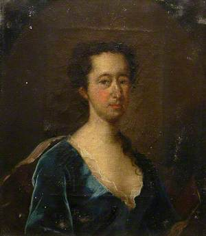 Portrait of a Lady of the Fonnereau Family, in Blue