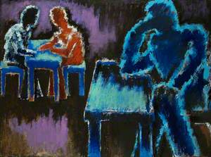 Men at Table