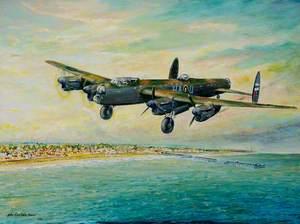 Lancaster Bomber B1, LM258, HA-Q of 218 Squadron