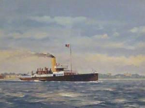 'Clacton Queen' off Felixstowe
