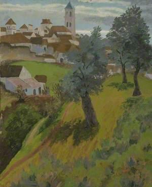 Olive Grove on Hillside