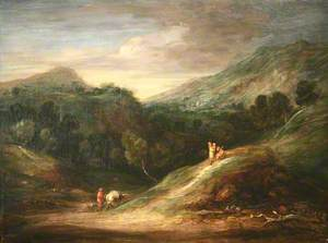 An Extensive Wooded Upland Landscape