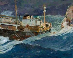 'Granby Queen' LT80, Rescuing a Trawler
