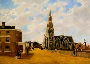 St John's Church, 1861