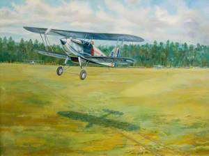 Slipstream on the Heath, Hawker Fury Number 1 Squadron