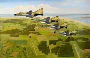 McDonnel F-4 Phantoms