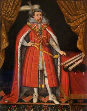 James I (1566–1625), in His State Clothes