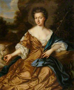 Jane Fox, Lady Leigh as a Shepherdess