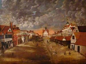 Market Square, Bury St Edmunds, Suffolk