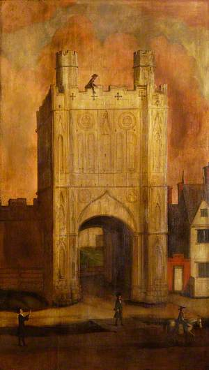 The Abbey Gate, Bury St Edmunds, Suffolk