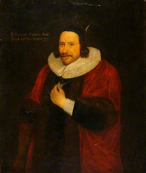 Sir Thomas Cullum (1587–1664), 1st Bt, Draper
