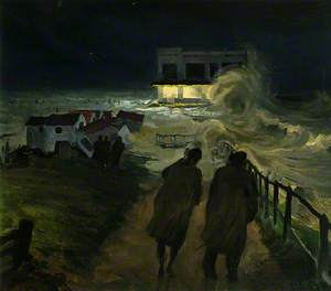 1953 Floods at Southwold, Suffolk