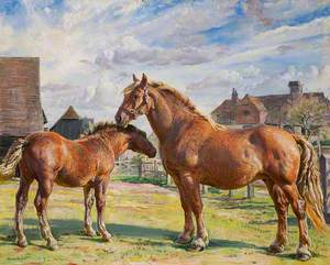 Parham Prunella and Her Foal