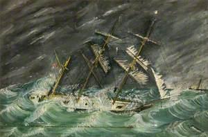 Loss of the Martina Maria, January 1881