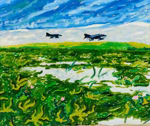 Landscape with Fighter Planes*