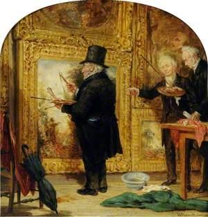 Turner on Varnishing Day