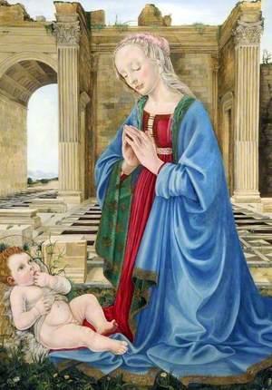The Virgin Adoring the Infant Christ