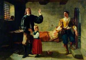 John Bunyan in Bedford Gaol