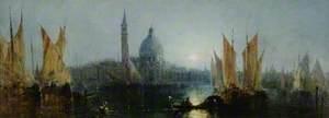 Santa Maria Maggiore, Venice, Moonlight