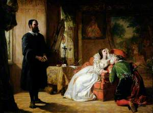 John Knox Reproving Mary, Queen of Scots