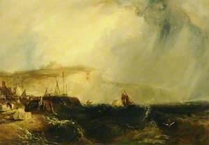 A Rough Sea off Dover, Kent