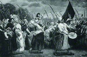 To Versailles, an Incident in the French Revolution