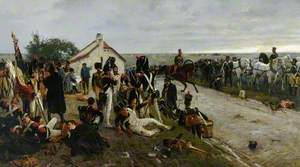 The Morning of the Battle of Waterloo