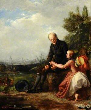 Little Nell and Her Grandfather