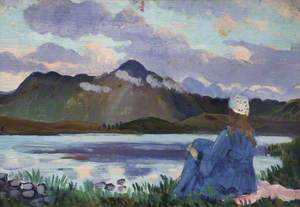 Landscape with a Figure, Arenig
