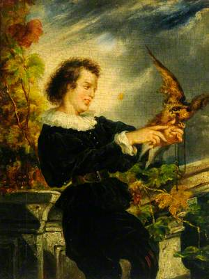 Boy with a Falcon