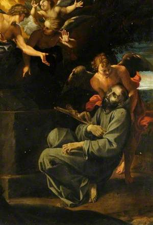 The Death of St Francis (The Ecstasy of St Francis)