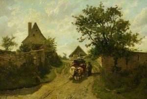 Farmhouses, St Aubin, Jersey