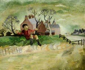 The Jumping Boy, Arundel, West Sussex