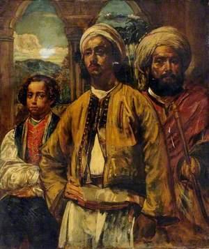 A Moorish Nobleman and His Attendants