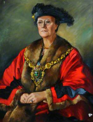 Alderman Mrs A. E. Longden (d.1952), First Lady Lord Mayor of Sheffield