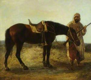 An Arab and His Steed