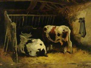 Cattle in a Stall
